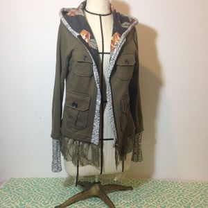 Anthropology Scrapbook Hooded jacket